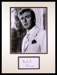 Michael Caine Autograph
