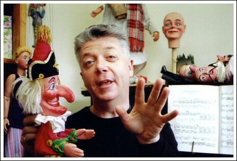 Geoff Felix - Puppeteer and Punch and Judy performer - image courtesy of and copyright © Ned Dyke-Coombes