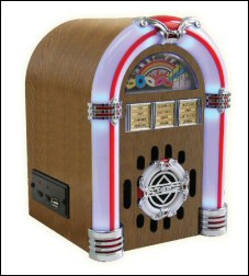 Jukebox-Style MP3 and Memory Stick Player