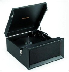 Stack-O-Matic Dansette-Style Record Player