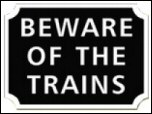 Off The Rails Signs