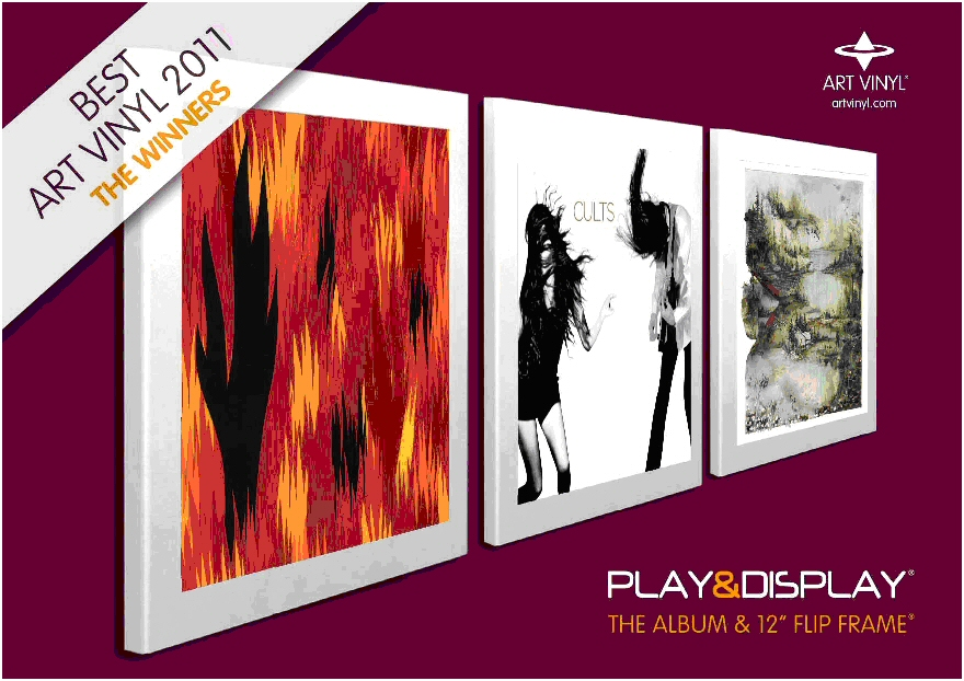 Art Vinyl Play & Display Flip Frames